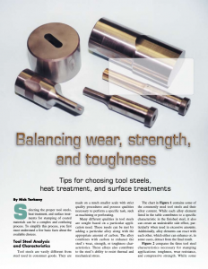 Tips for Choosing Tool Steels