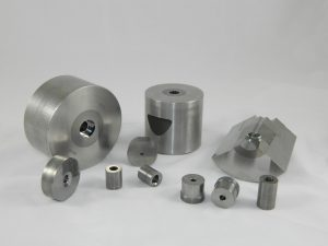 a group of carbide dies